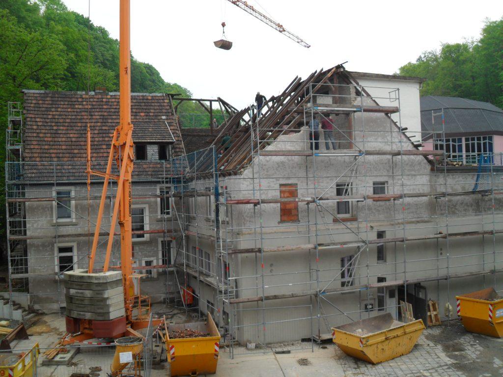 Gebäude Lukas I vor Umbau